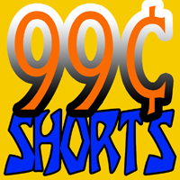 99 Cent Shorts Logo