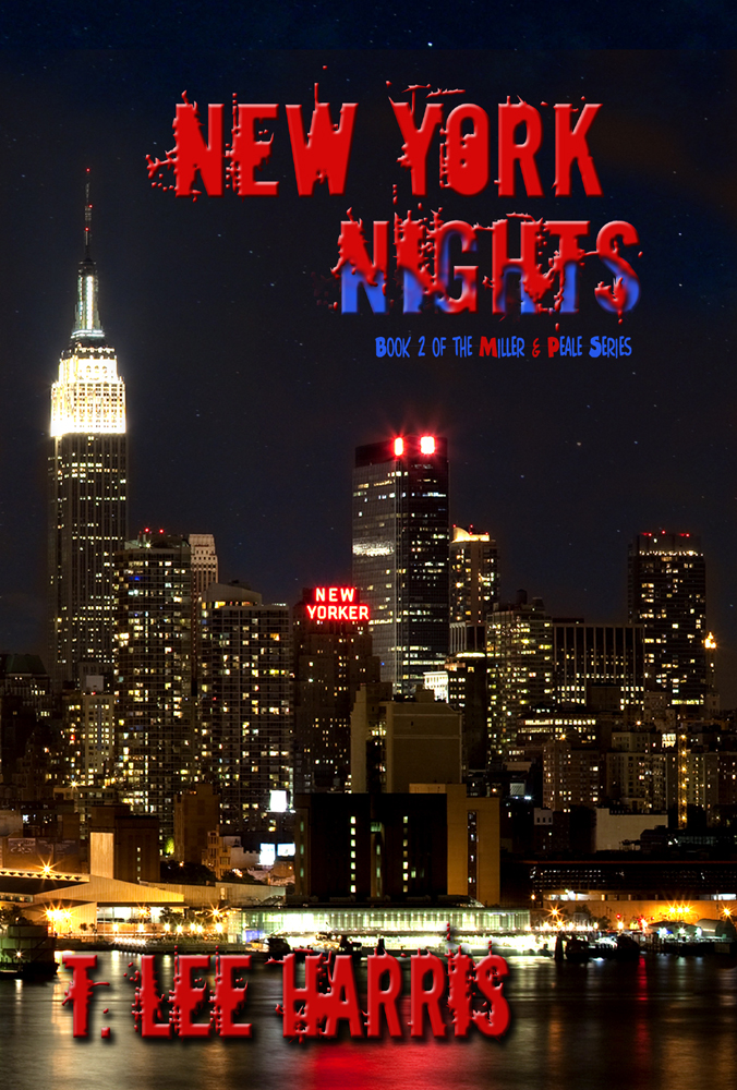 The cover of New York Nights, Book 2 in the Miller & Peale series.